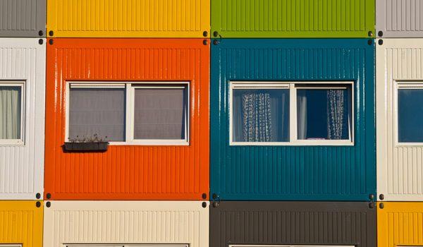 Una casa da un container