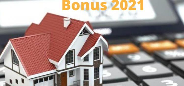 Novità: bonus per affitto 2021